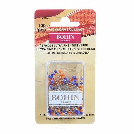 Bohin Ultra Fine Pins 100 ct.