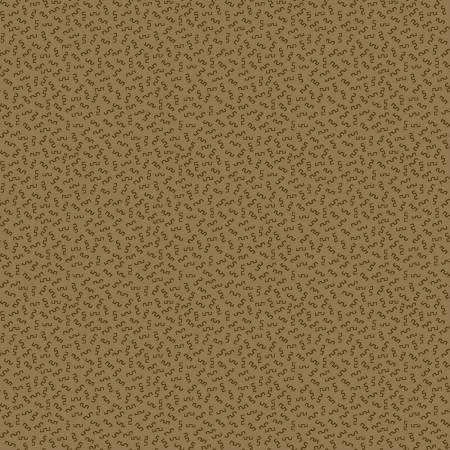 Buttermilk Winter - Mini Squiggles on Olive Green