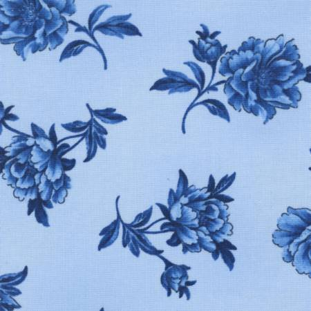 True Blue - Sky Tossed Floral