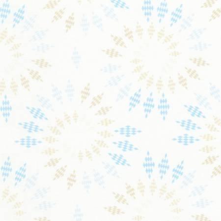 Bohemian Blues Collection - Sand Diamond Spiral