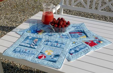 4 Quick and Easy Placemats - A Cut Loose Press Pattern