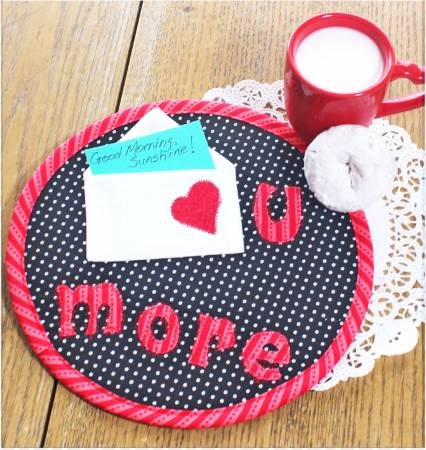 Love U More Snack Mat - 50% OFF!