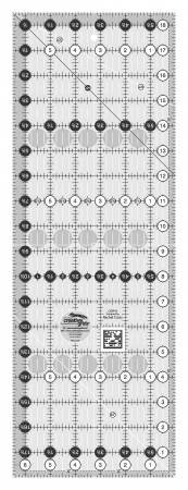Creative Grids 6 1/2 x 18 1/2 Rectangular Ruler
