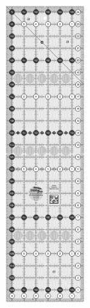 6 1/2 x 24 1/2 Turn a Round Rectangle Ruler by Creative Grids