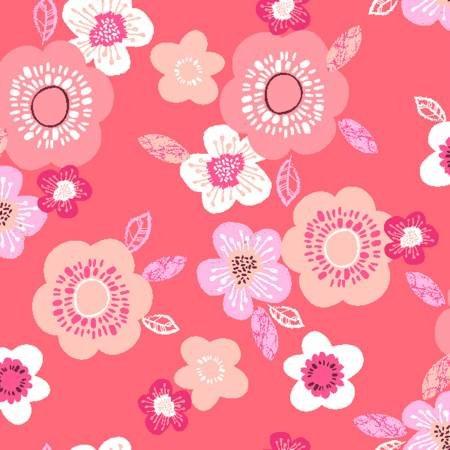 Hello Spring - Coral Blooms