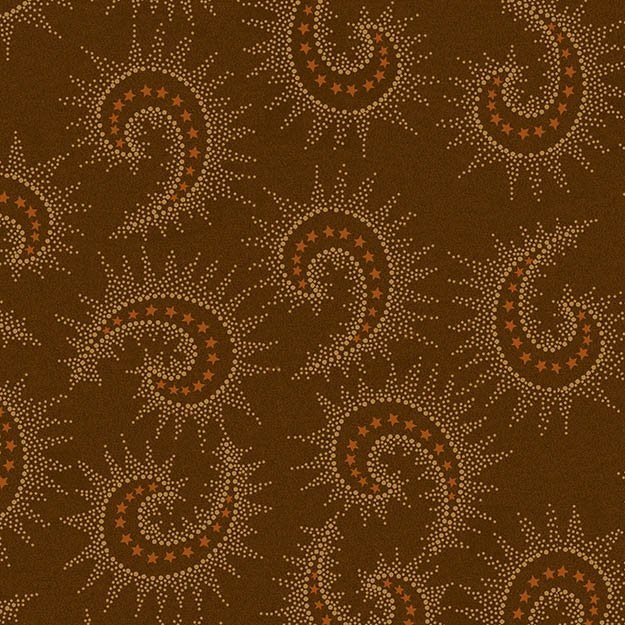 Heritage Hollow - Brown Swirls