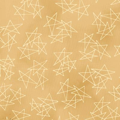 Buggy Barn Basics Creamery VI - Stars on Tan by Henry Glass