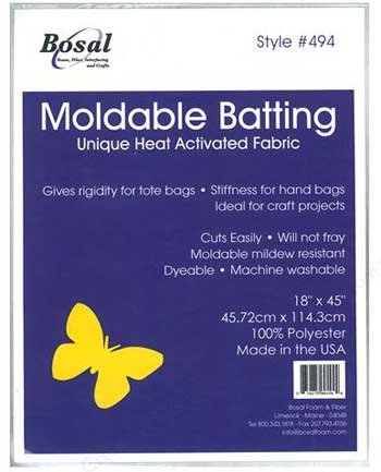 Moldable Batting - Heat Activated Fabric