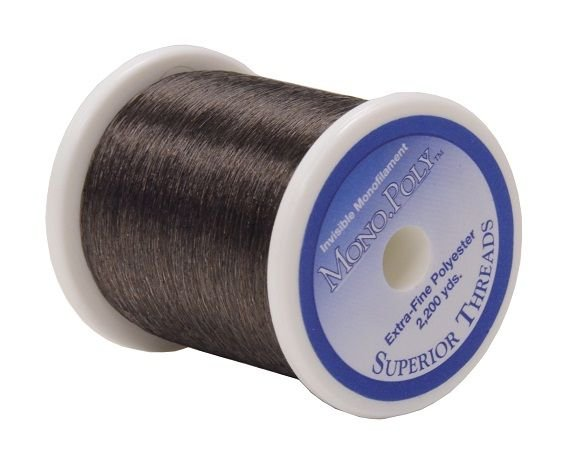 Superior Mono.Poly Smoke Invisible Thread - 2200 yds