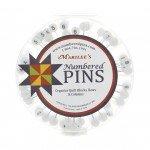Marilee's Numbered Pins Set