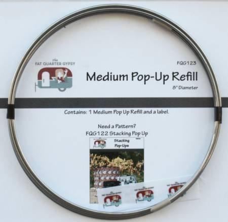 Pop Up Refill Medium 8 in