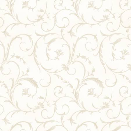 Beautiful Backings in Ivory by Maywood Studios