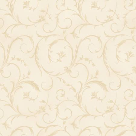 Beautiful Backings in Cream by Maywood Studios