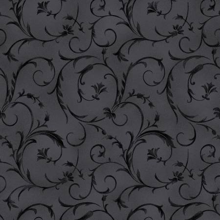 Beautiful Backings in Soft Black by Maywood Studios