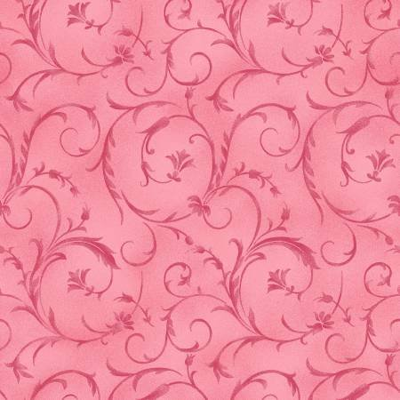 Beautiful Backings in Rosette Pink by Maywood Studios