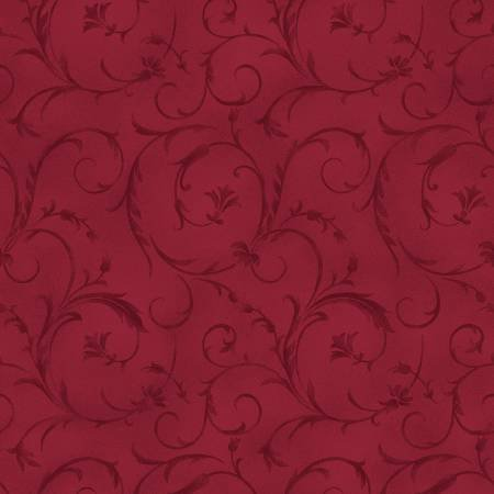 Beautiful Backings in Crimson Red by Maywood Studios