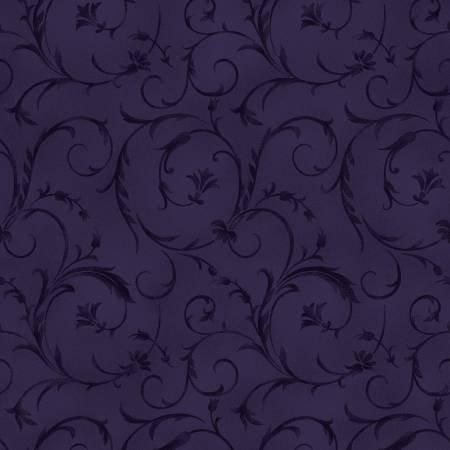 Beautiful Backings in Rich Purple by Maywood Studios