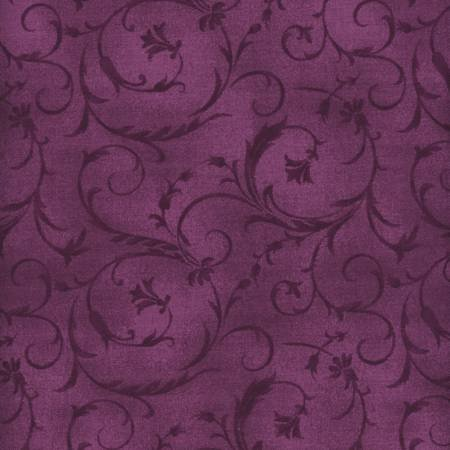 Beautiful Backings in Violet Red by Maywood Studios