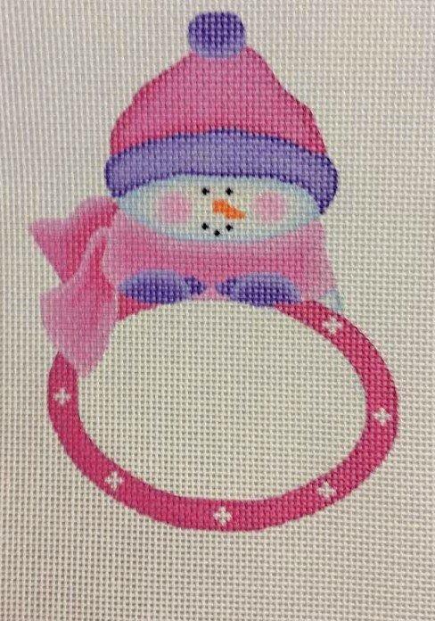 Snowgirl Plaque
