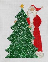 The Christmas Tree Santa
