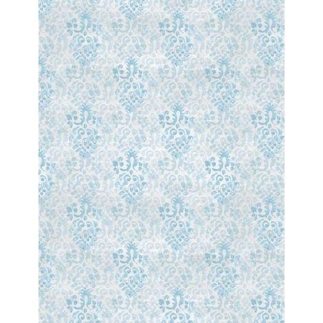 Flower Market- Medallion Blue/Gray