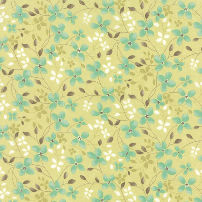 Refresh - Trailing Floral Light Green