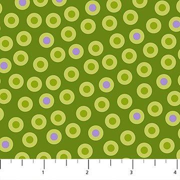 Urban Elementz Basics - Green Bullseye Dots