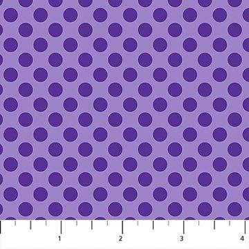 Urban Elementz Basics - Medium Purple Polkadots