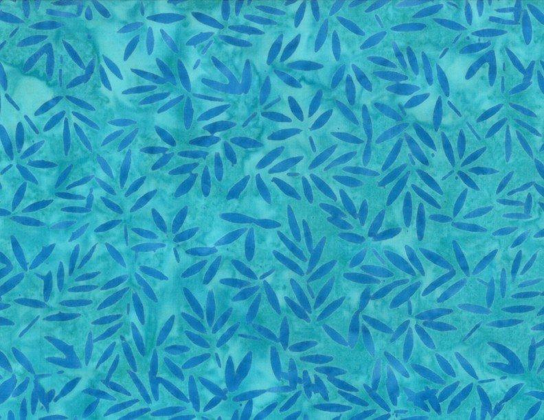 Wilmington Batiks - Bamboo Leaves Blue