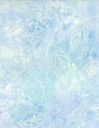 Wilmington Batiks - Floating Leaves Sky Blue