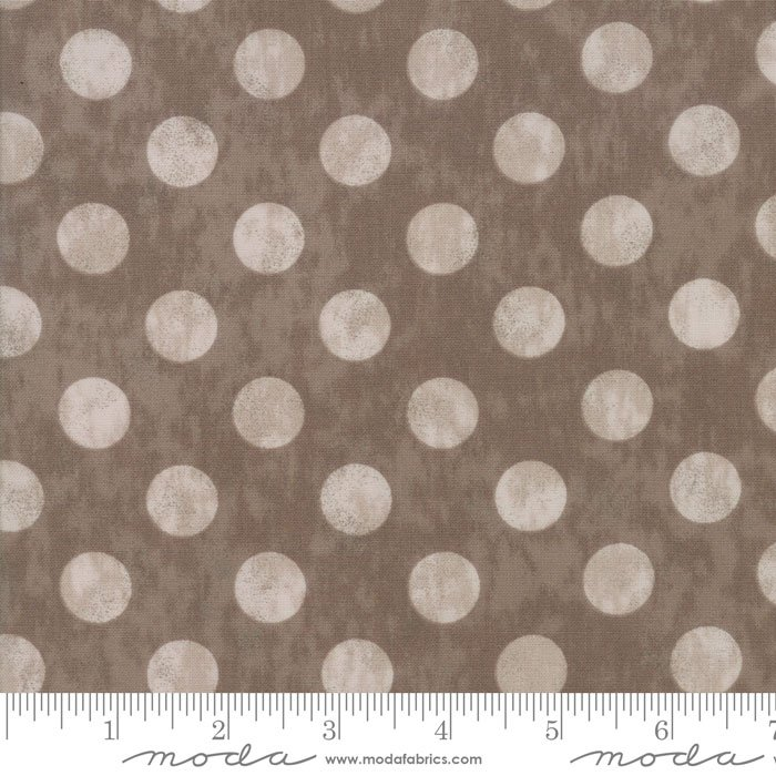 Maven - Large Dots Taupe