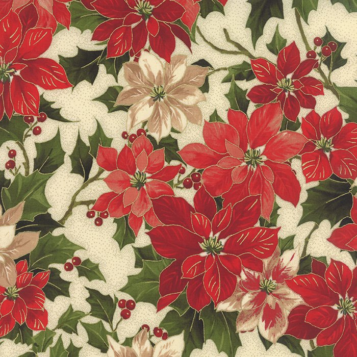 Holly Night - Poinsettia Cream