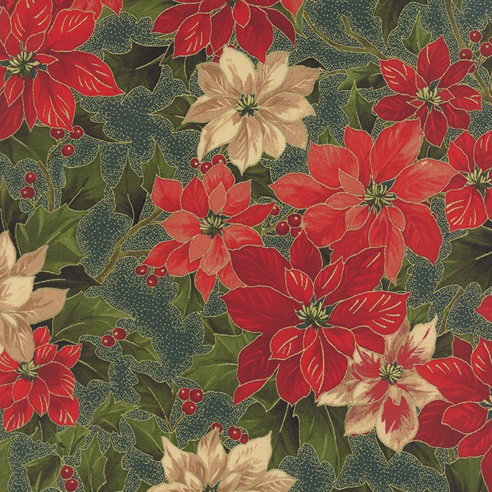 Holly Night - Poinsettia Evergreen