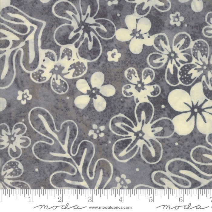 Collections Sunshine - Steel Floral Batik