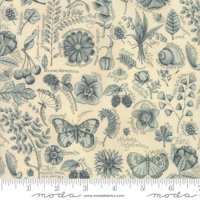 Garden Notes - Garden Journal Light Blue
