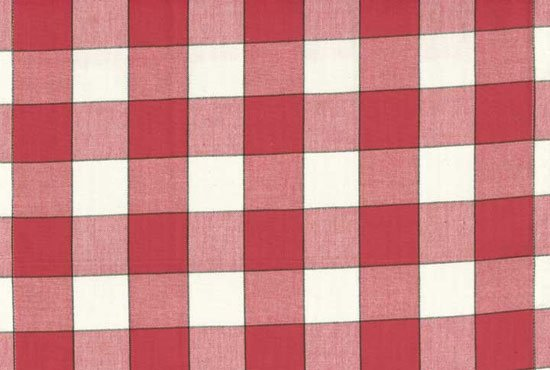 Toweling - Red Buffalo Check
