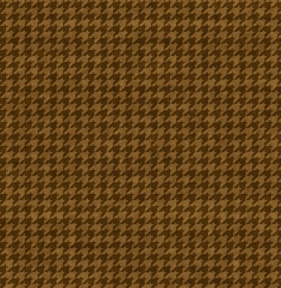 Houndstooth Basic - Brown