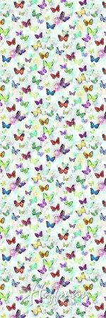 108 Opal Wide Back- Butterflies