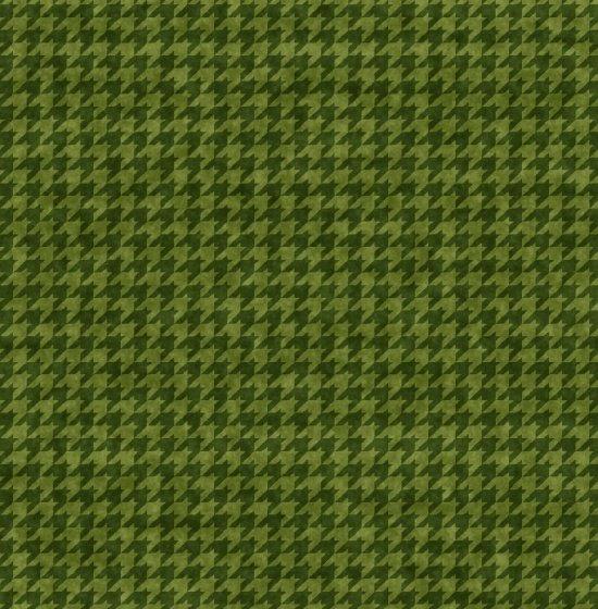Houndstooth Basic - Green