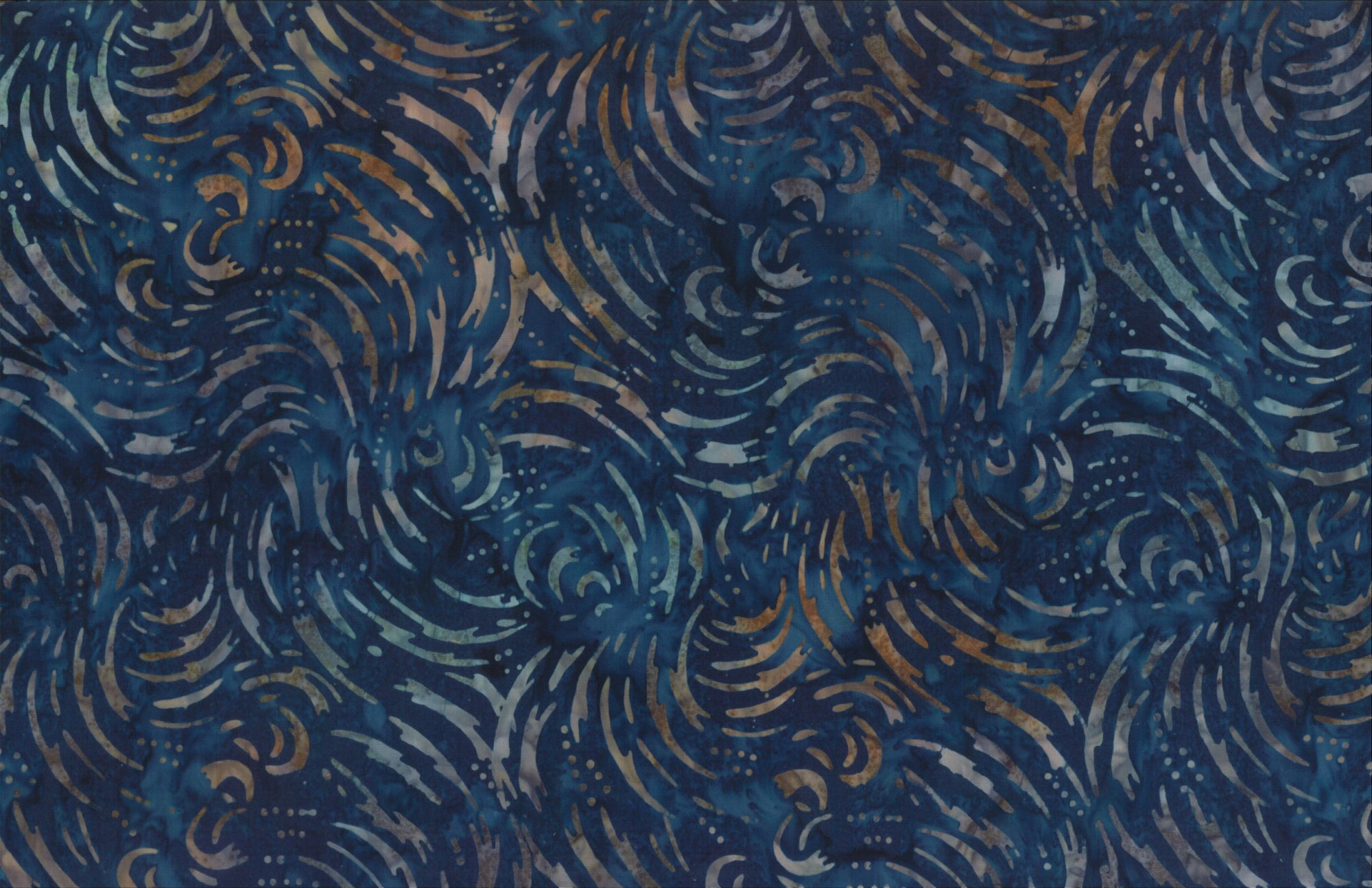 Wilmington Batik- Lighting A/O Navy