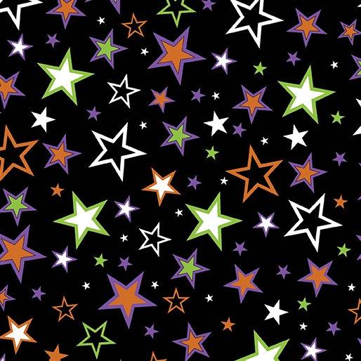 Faboolous Fun- Charmed Stars Black (Glow in the Dark)