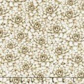 Tivoli Garden- Packed Florals tan
