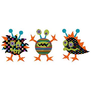 Applique Elementz - Monster Mash