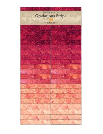 Gradation Strips - Hibiscus