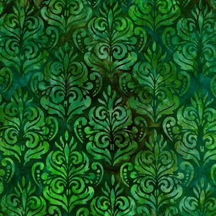 Fabric Artisan Batiks Rosette AMD-18941-7 Green