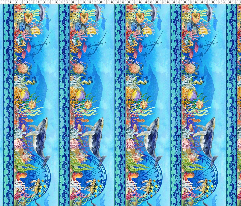 Fabric Calypso 2Cal-1 Blue