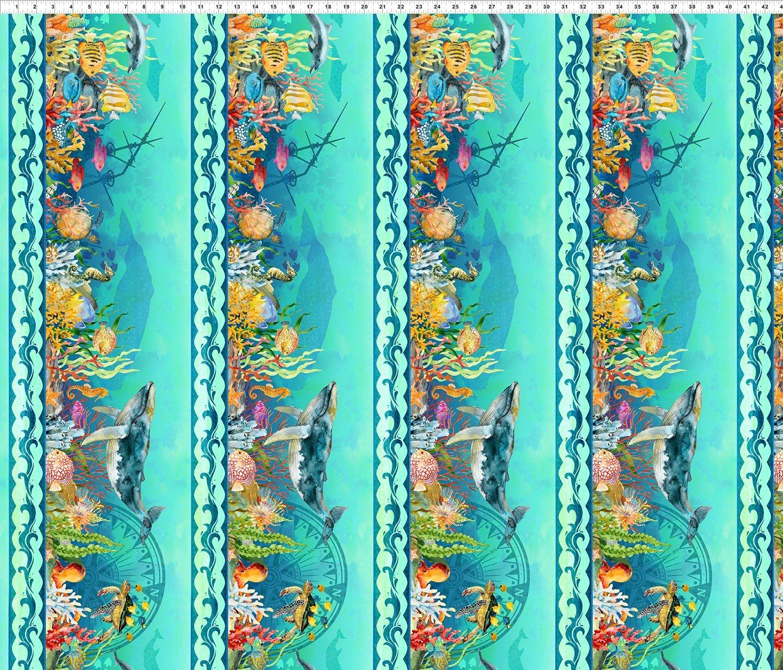 Fabric Calypso 2Cal-2 Aqua