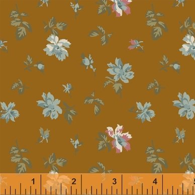 Fabric Legendary Loves Floral 42970-6 Gold