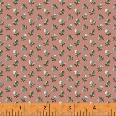 Fabric Legendary Loves Flower Bud 42971-7 Rose
