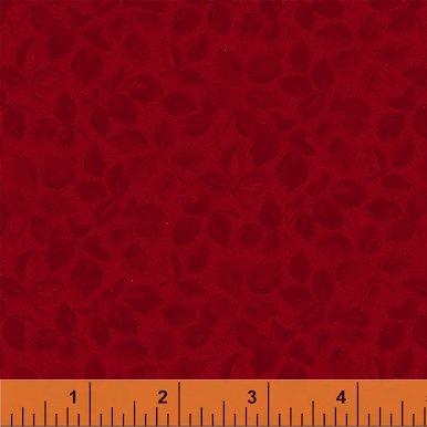 Fabric Legendary Loves Leaves 42972-1 Red